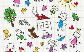Bambini chiusi in casa e genitori in smartworking