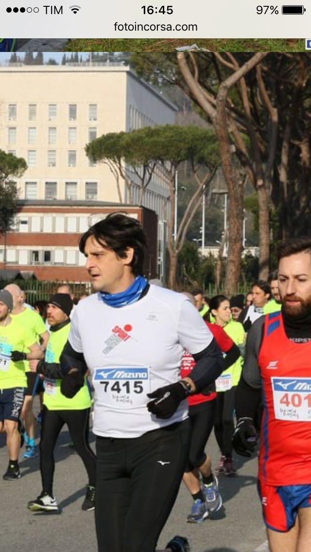 Intervista a Sergio…..runner da adulto con qualche soddisfazione da togliersi